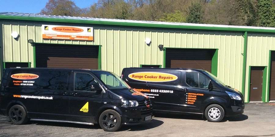 Range Cooker Repairs Vans Fleet